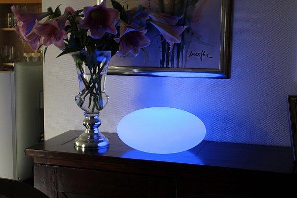 arnusa led lampe inkl fernbedienung kabellos einsetzbar neu f r innen und au en arnusa shop. Black Bedroom Furniture Sets. Home Design Ideas