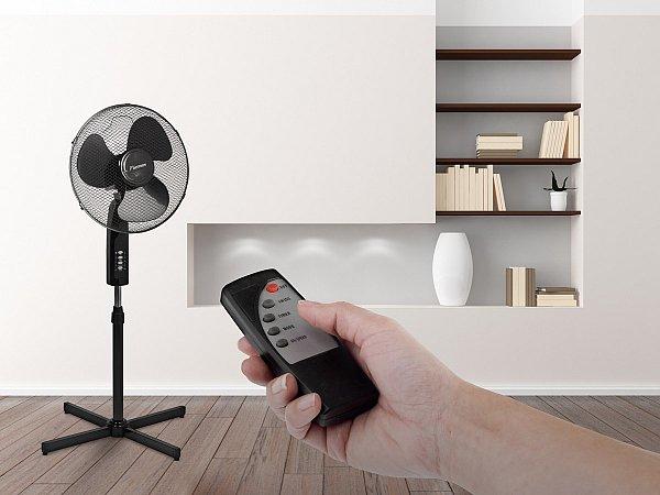standventilator mit zeitschaltuhr fernbedienung ventilator 45cm bestron asf16r ebay. Black Bedroom Furniture Sets. Home Design Ideas