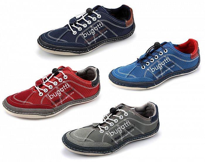 bugatti herrenschuhe sneaker slipper freizeitschuhe easy. Black Bedroom Furniture Sets. Home Design Ideas
