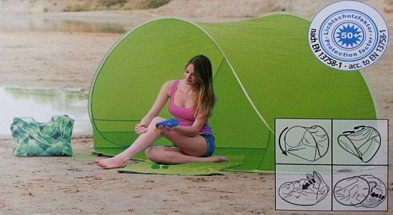 gro e spring auf strandmuschel muschel zelt strandmuschel sonnenschutz neu ebay. Black Bedroom Furniture Sets. Home Design Ideas