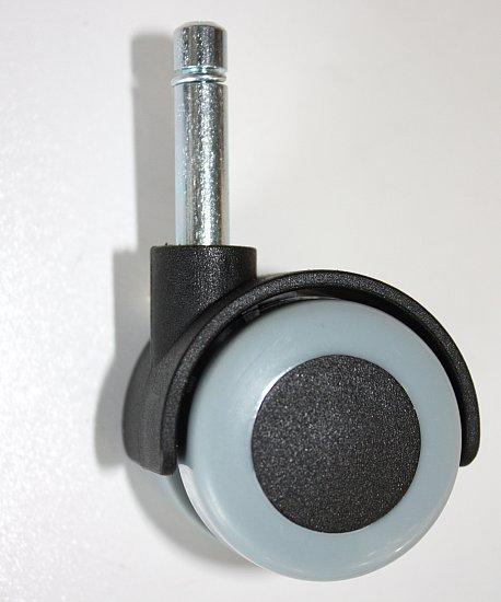 4 st ck m belrollen 40 mm hartbodenrollen gummi stift 8x30 ebay. Black Bedroom Furniture Sets. Home Design Ideas