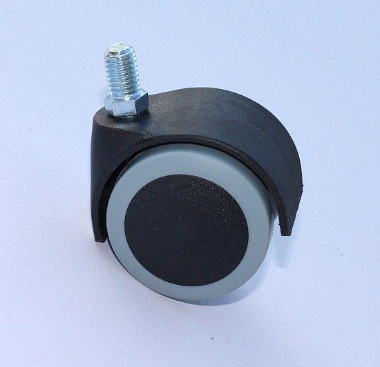 50 mm hartbodenrollen stuhlrollen b rostuhl rollen b rostuhlrolle neu ebay. Black Bedroom Furniture Sets. Home Design Ideas