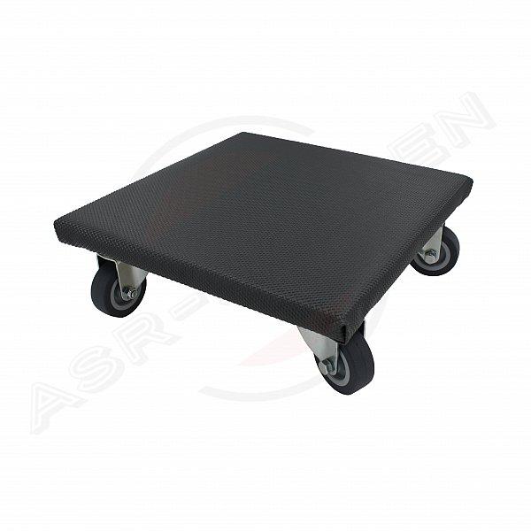 2 st ck transportroller 26x26cm 150kg blumenroller untersetzer pflanzenroller ebay. Black Bedroom Furniture Sets. Home Design Ideas