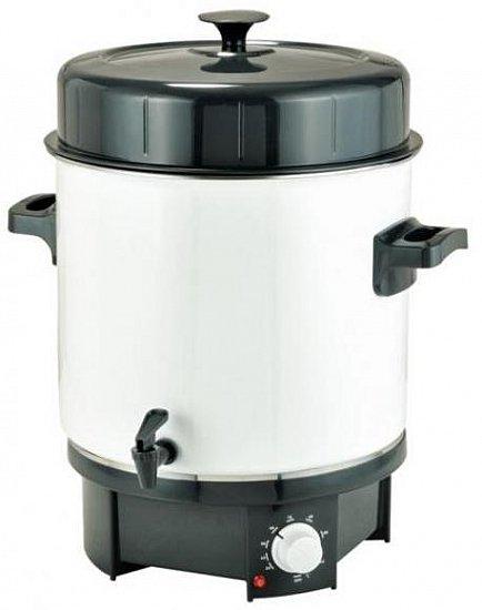 einkochautomat 1800 watt 27 liter einkocher 30 100 c einkochtopf ebay. Black Bedroom Furniture Sets. Home Design Ideas
