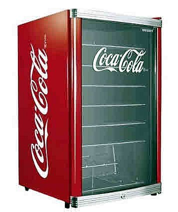 husky highcube coca cola design k hlschrank 115 liter. Black Bedroom Furniture Sets. Home Design Ideas