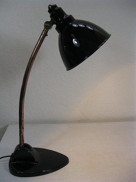 original kandem lampe modell nr 8372 schreibtischlampe desklamp bauhaus design ebay. Black Bedroom Furniture Sets. Home Design Ideas