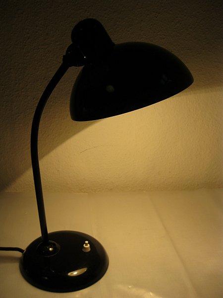 original kaiser idell lampe modell 6556 christian dell bauhaus kaiser leuchten ebay. Black Bedroom Furniture Sets. Home Design Ideas