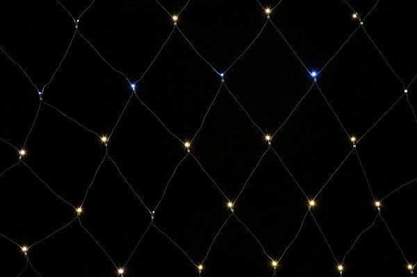 weihnachtliches lichternetz lichterkette 64 208 led s. Black Bedroom Furniture Sets. Home Design Ideas