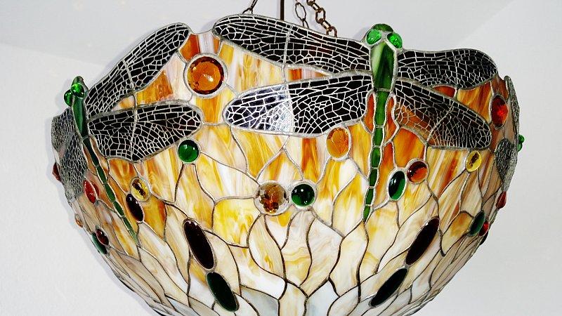 Xxltiffany lampe h ngelampe deckenlampe tiffanylampe ebay - Deckenlampe arbeitszimmer ...