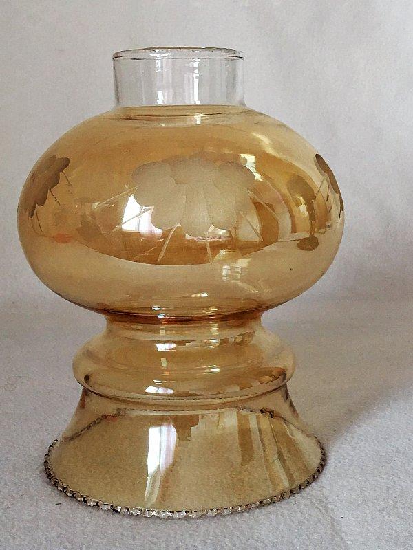 Lampenschirm glas glasschirm frankreich um antik