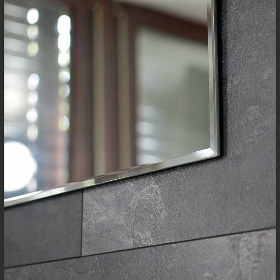 diplon badspiegel mit facettenschliff wandspiegel spiegel 450x600 mm j1526 ebay. Black Bedroom Furniture Sets. Home Design Ideas