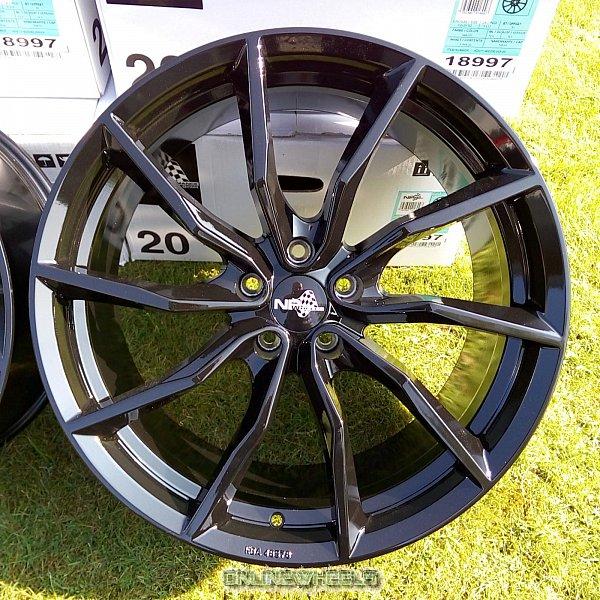 18 zoll abe alufelgen nb wheels nb1 turbine f r honda. Black Bedroom Furniture Sets. Home Design Ideas