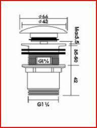 waschbecken ablauf edles design klick verschluss abfluss waschtisch st psel ebay. Black Bedroom Furniture Sets. Home Design Ideas