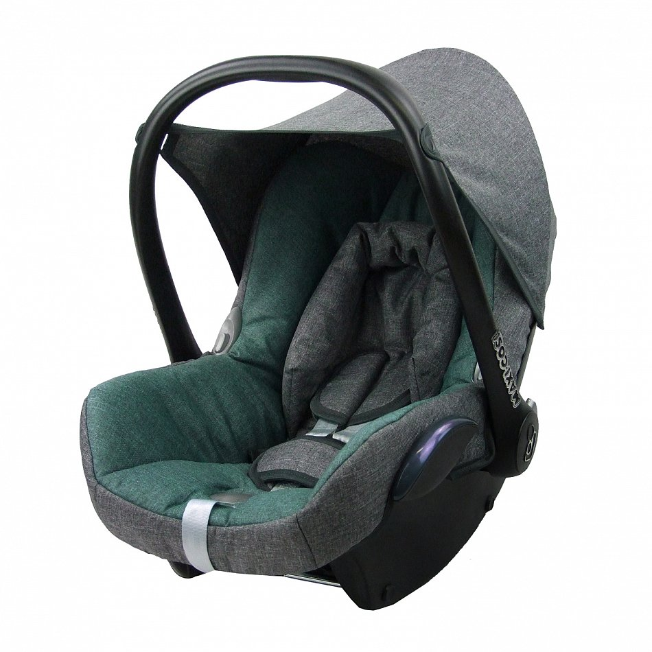 kompl ersatzbezug 6 tlg f r maxi cosi cabriofix bezug babyschale grau t rkis ebay. Black Bedroom Furniture Sets. Home Design Ideas