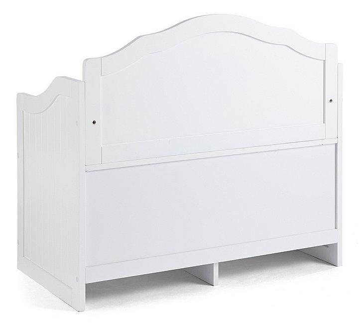 bank sitzbank sitztruhe wei holz landhaus stil liamare impressionen 9351 08 ebay. Black Bedroom Furniture Sets. Home Design Ideas