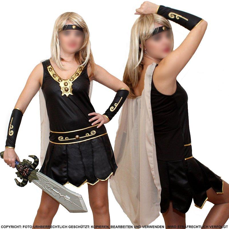 kriegerin gladiatorin r mer amazone warrior fasching damen kost m s 36 ebay. Black Bedroom Furniture Sets. Home Design Ideas