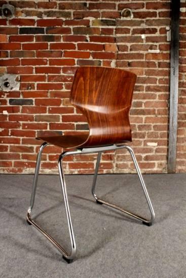 Fl totto design stuhl original retro vintage klassiker for Stuhl design schule