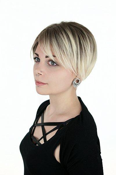 Perucke lang blond