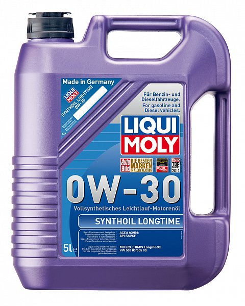 liqui moly motor l synthoil longtime 0w 30 5 l ebay. Black Bedroom Furniture Sets. Home Design Ideas