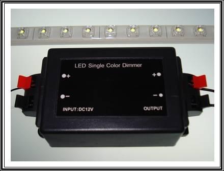 led funkdimmer 12v dc licht streifen leisten trafo beleuchtung leuchte stripes ebay. Black Bedroom Furniture Sets. Home Design Ideas