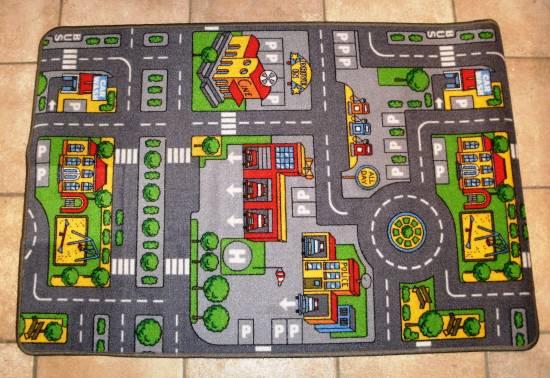 Strassenteppich Straßenteppich Autoteppich Kinderteppich
