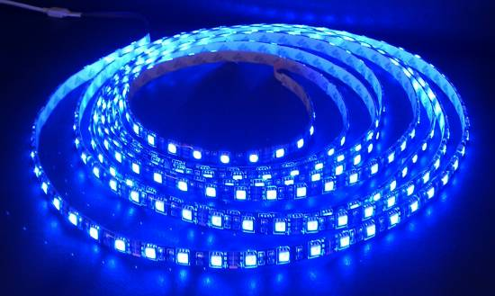 5 meter warmwei led strip streifen smd 5050 ip68 wasserdicht 300 leds 5m ebay. Black Bedroom Furniture Sets. Home Design Ideas
