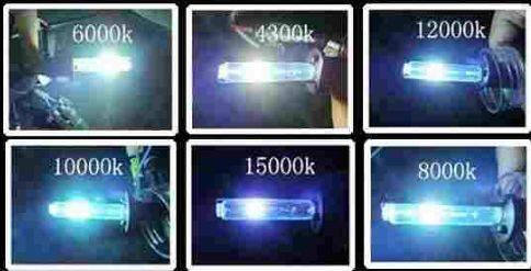 2x h7 h 7 xenon brenner birnen lampen ersatz 35 w neu for Lampen 6000 kelvin