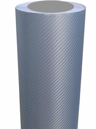 auto carbon folie silber grau 100 x127 cm folieren. Black Bedroom Furniture Sets. Home Design Ideas