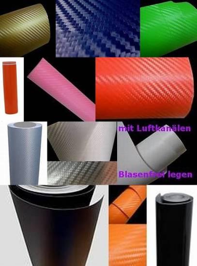 3d carbon folie schwarz 1000 x 152 matt glanz 4 95 m. Black Bedroom Furniture Sets. Home Design Ideas