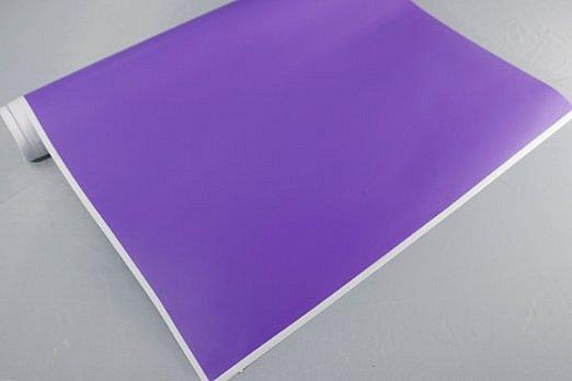 3,2€//m² Plotterfolie glänzend 20 violett 30 x 106cm Möbel-Folie selbstklebend