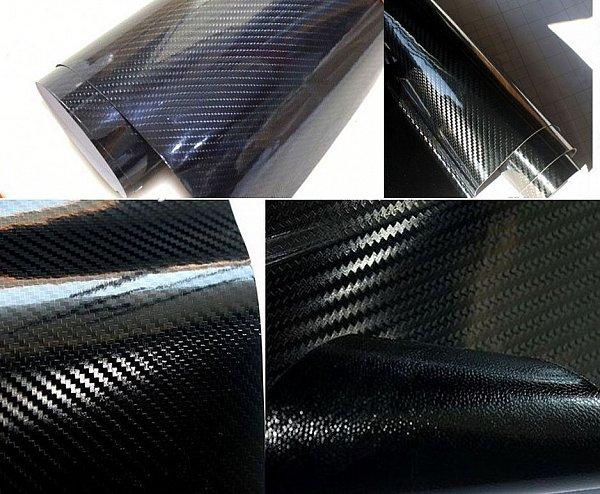 2 9 m 5d carbon folie super glanz innen auto folie. Black Bedroom Furniture Sets. Home Design Ideas