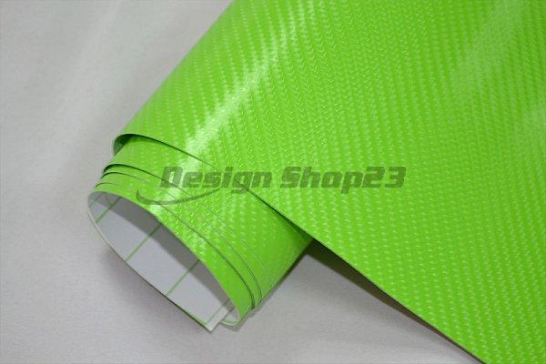 4d carbon folie 4d gr n 200 x 152 cm flexibel auto folie wrapping klebefolie ebay. Black Bedroom Furniture Sets. Home Design Ideas