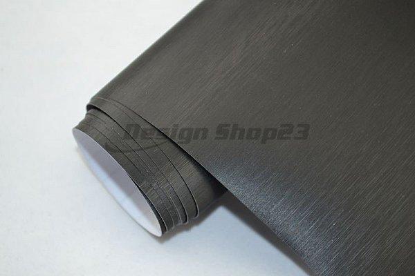 8 m alu aluminium geb rstet schwarz 200 x 152 cm deko for Selbstklebende folie schwarz