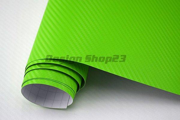4 70 m 3d carbon folie gr n 500 x 152 cm auto folie selbstklebend flexibel ebay. Black Bedroom Furniture Sets. Home Design Ideas