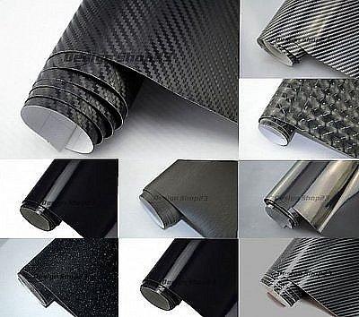 20 m auto folie schwarz 3d 4d 5d carbon folie glanz matt folie blasenfrei ebay. Black Bedroom Furniture Sets. Home Design Ideas
