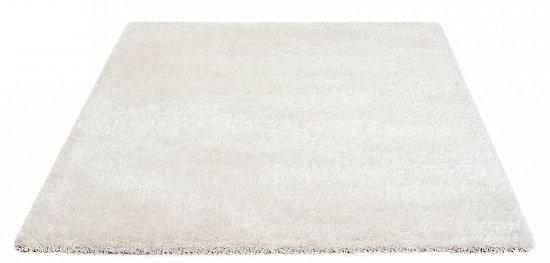 Flauschiger teppich  Shaggy Langflor Hochflor Teppich mit Glanzeffekt Creme in versch ...