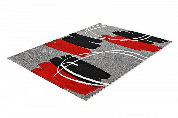 ausverkauf designer teppich flach gewebt 202 300 grau 120x170cm ebay. Black Bedroom Furniture Sets. Home Design Ideas