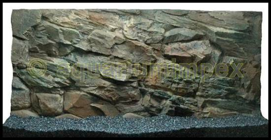 aquarium 3 d r ckwand rock felsen 100x50 cm 100 3d. Black Bedroom Furniture Sets. Home Design Ideas
