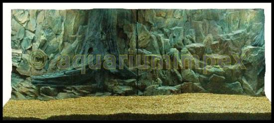 Aquarium 3 d 150x60 r ckwand s felsen wurzel 150 60 2tlg aquariumr ckwand ebay - 3d ruckwand aquarium 150x60 ...