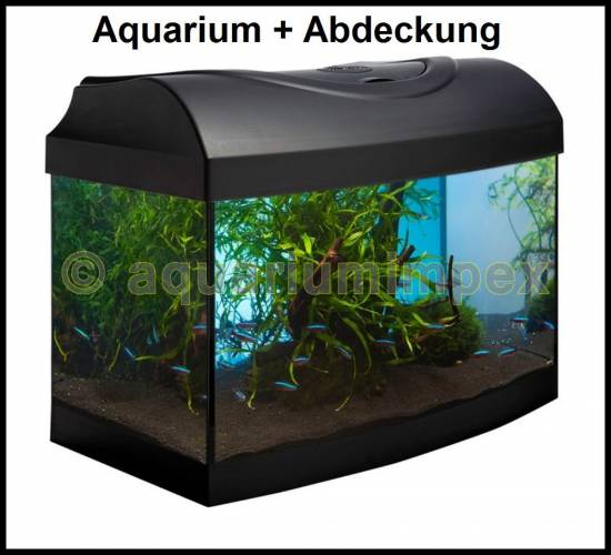 40x25x25 cm gew lbt aquarium abdeckung inkl beleuchtung 11 watt 40 25 set ebay. Black Bedroom Furniture Sets. Home Design Ideas
