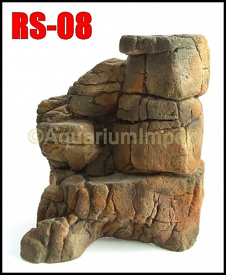 aquarium terrarium deko wand stein felsen element module r ckwand rs serie ebay. Black Bedroom Furniture Sets. Home Design Ideas