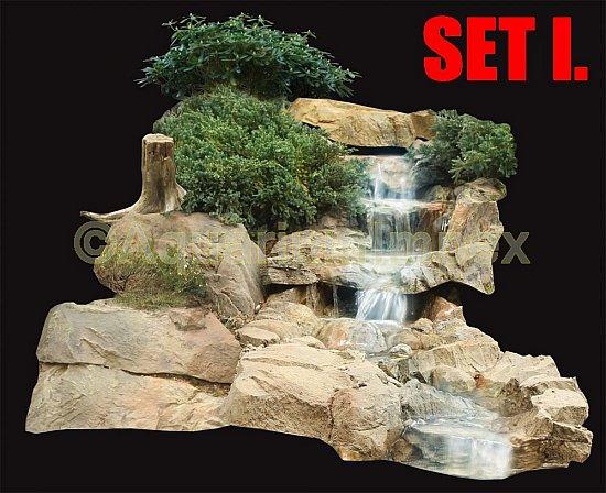 Bachlauf wasserfall 4 variationen teich bachlaufschalen set wasserspiel garten ebay - Wasserfall gartenteich ...