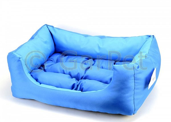 hundebett katzenbett hunde katzen bett korb kissen sofa schlafplatz blau ebay. Black Bedroom Furniture Sets. Home Design Ideas
