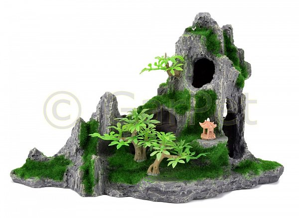 aquarium terrarium deko landschaft felsen versteck deko stein fels ablaichplatz ebay. Black Bedroom Furniture Sets. Home Design Ideas