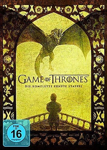 Game of Thrones Die komplette Staffel/Season 5 [DVD]