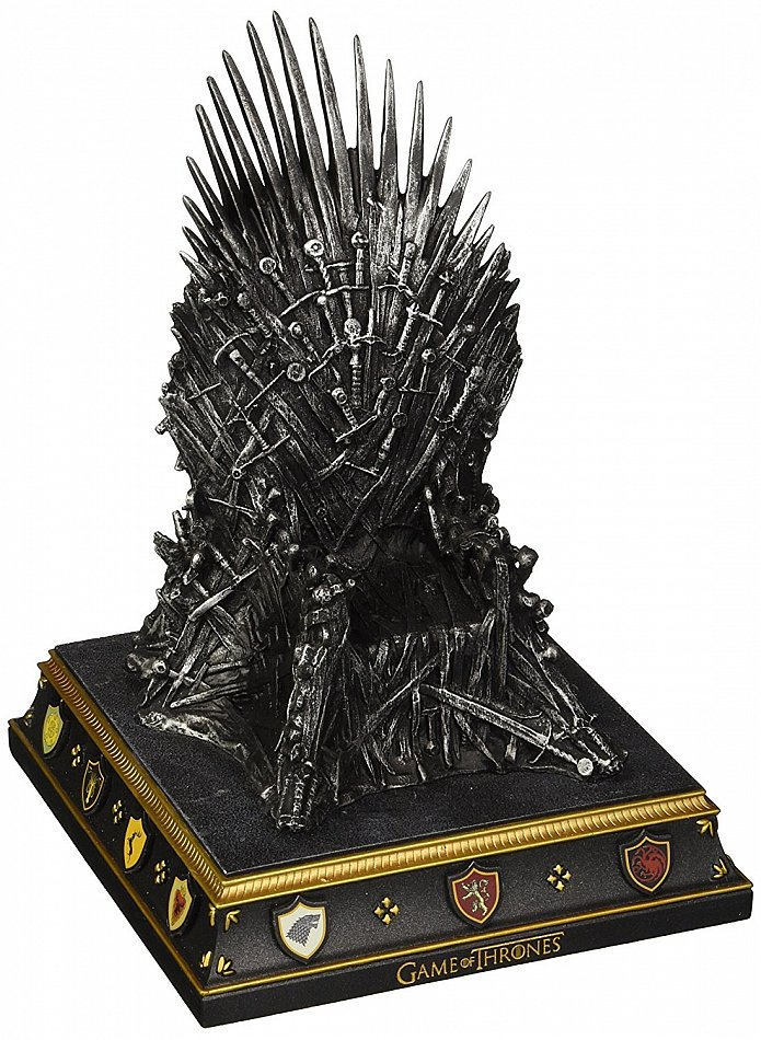 "Game of Thrones Statue ""Eisener Thron"" (The Iron Throne Bookend)"