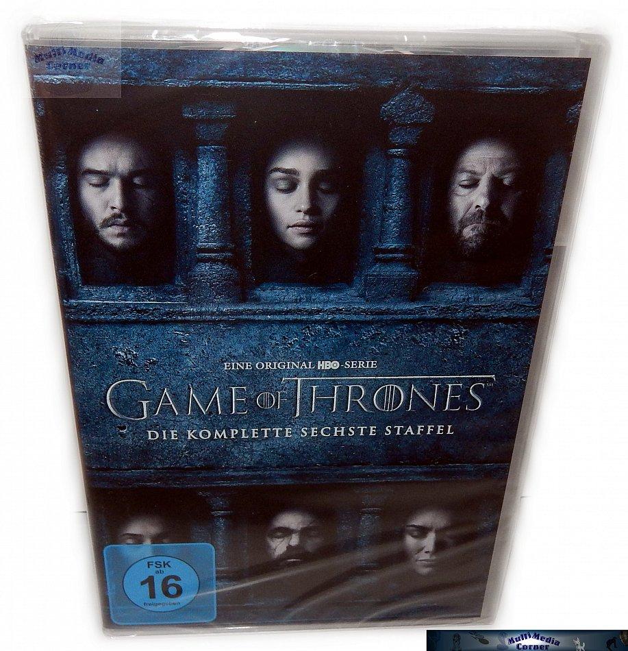 Game of Thrones Die komplette Staffel/Season 6 [DVD]