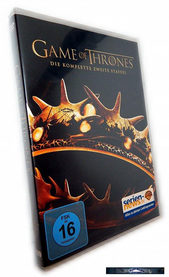 Game of Thrones Die komplette Staffel/Season 2 [DVD]