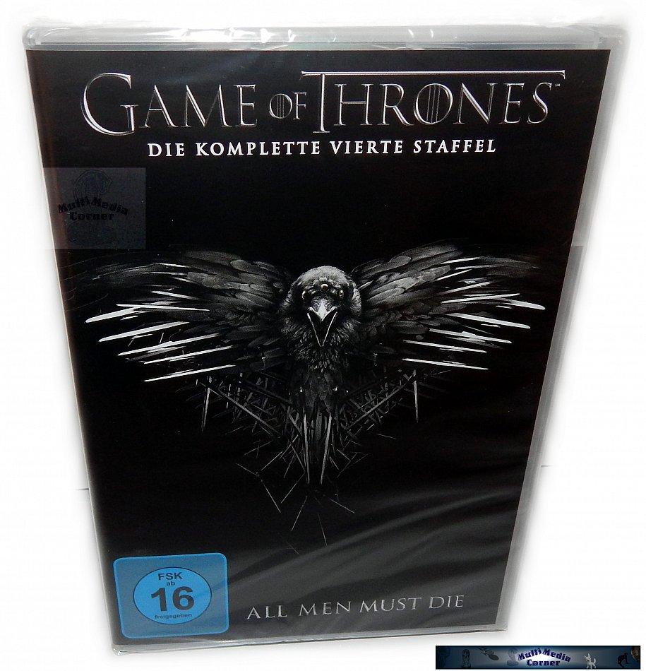 Game of Thrones Die komplette Staffel/Season 4 [DVD]