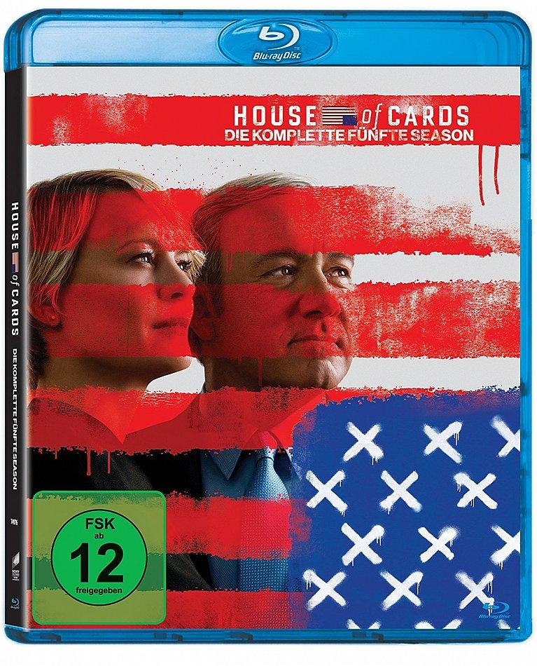 House of Cards Season 5 Blu-Ray